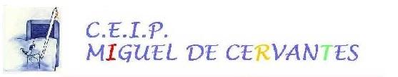 Colegio CEIP Miguel De Cervantes Logo