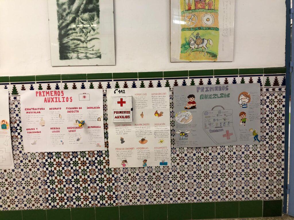 primeros auxilios y cuerpo humano en primaria 1