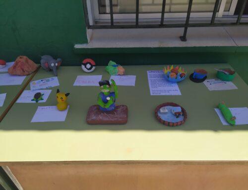 Exposición de esculturas de 6º A y B